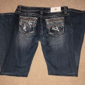 Womens miss me jeans! Size 30x34!